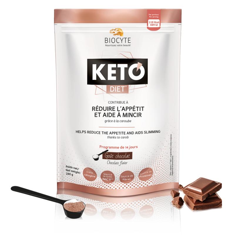 Biocyte Keto diet perte de poids 280g disponible sur Pharmacasse