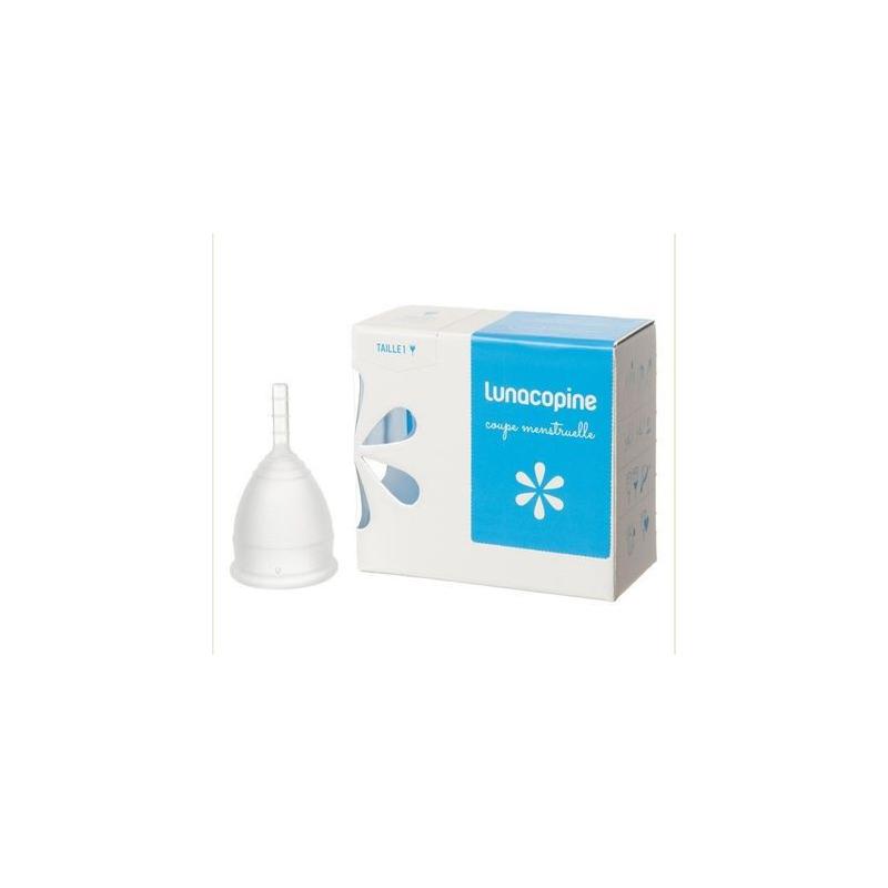 LUNACOPINE COUPE MENSTRUELLE Transparent Taille 1 bt 1 disponible sur Pharmacasse