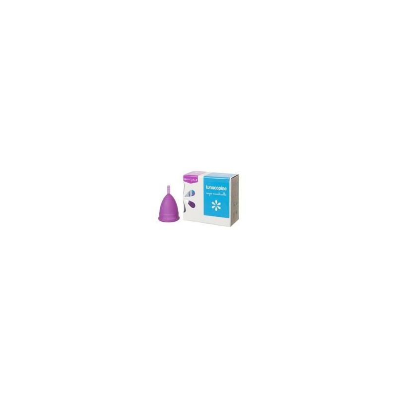 LUNACOPINE COUPE MENSTRUELLE Violet Taille 1 bt 1 disponible sur Pharmacasse