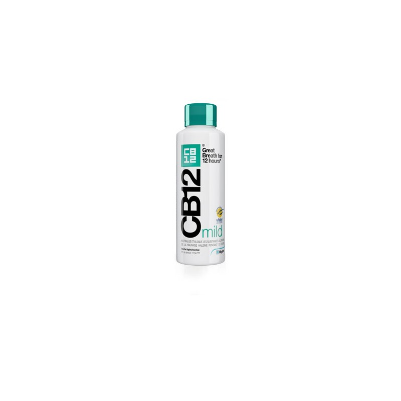 CB12 MILD Menthe légère 250ml disponible sur Pharmacasse