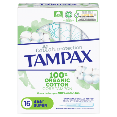 TAMPAX Tampons Cotton...
