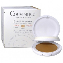 Avène couvrance crème correcteur de teint, Teinte 2.0 Naturel disponible sur Pharmacasse