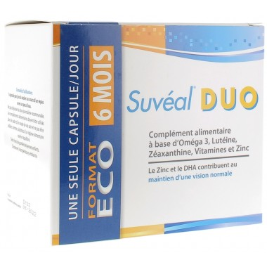 Suveal Duo  180 Capsules
