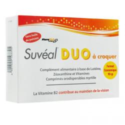 Suvéal Duo 90 comprimés à croquer