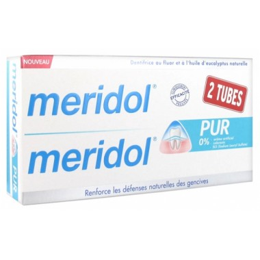 Meridol dentifrice pur lot...