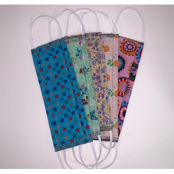 Masque barrière en tissu pour enfants 7-10ans