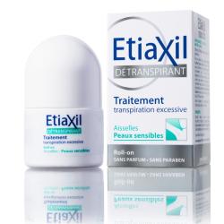 ETIAXIL Aisselles Détranspirant Peaux sensibles