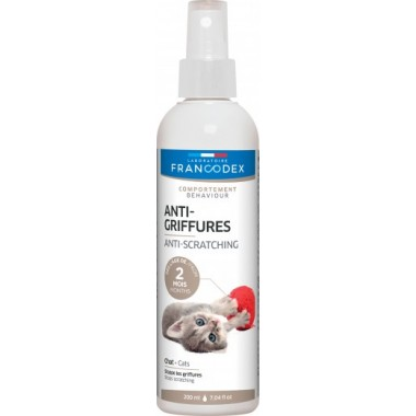 Francodex anti griffures 200ml pour chatons et chats