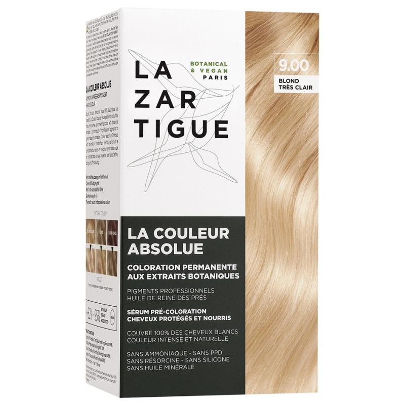 Lazartigue la couleur absolue - coloration : 9.00 Blond très clair disponible sur Pharmacasse