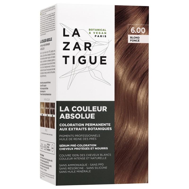 Lazartigue la couleur absolue Coloration : 6.00 Blond Foncé disponible sur Pharmacasse