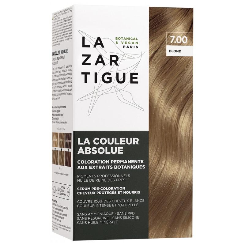 Lazartigue la couleur absolue Coloration : 7.00 Blond disponible sur Pharmacasse