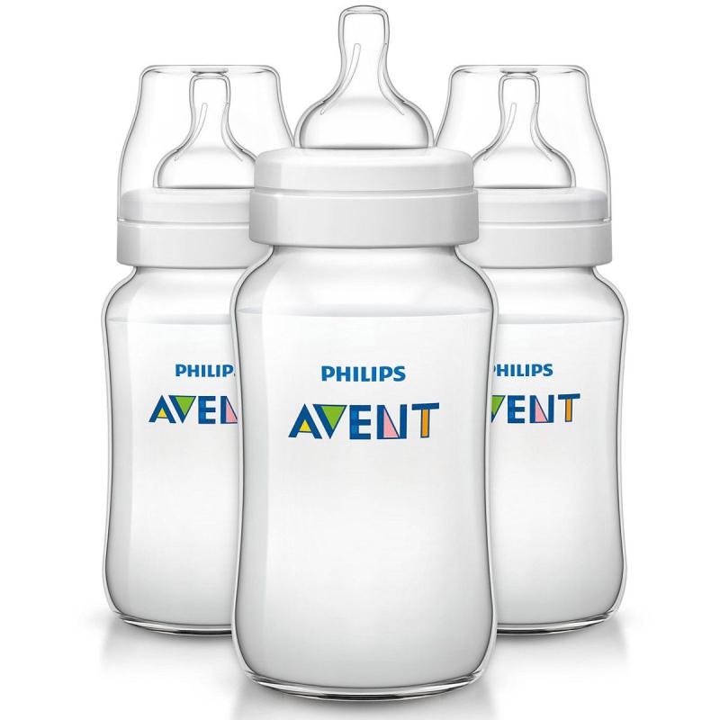 AVENT 3 biberons classique 330ML disponible sur Pharmacasse
