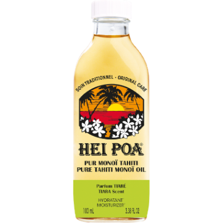 Hei Poa pur monoï de Tahiti parfum tiaré 100ml