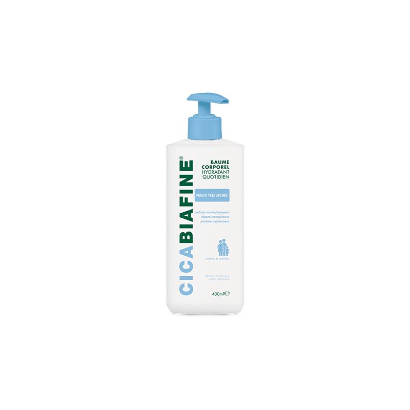CICABIAFINE Baume hydratant corporel quotidien 400ml disponible sur Pharmacasse