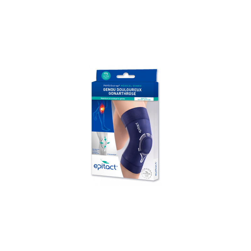 EPITACT PHYSIOSTRAP  Genouillère Taille M disponible sur Pharmacasse