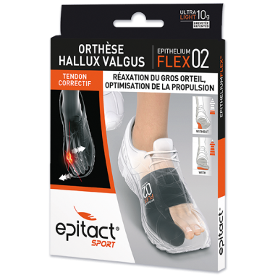 EPITACT SPORT Flex 02 Orthèse Hallux Valgus S
