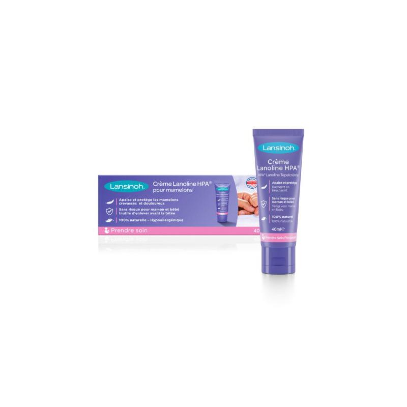 LANSINOH Crème Lanoline pour mamelons 40ml disponible sur Pharmacasse