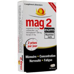 MAG 2 Exams 30 comprimés