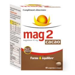 MAG 2 Cacao 60 comprimés à...