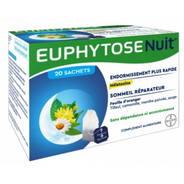 Euphytose Nuit Infusion 20 sachets