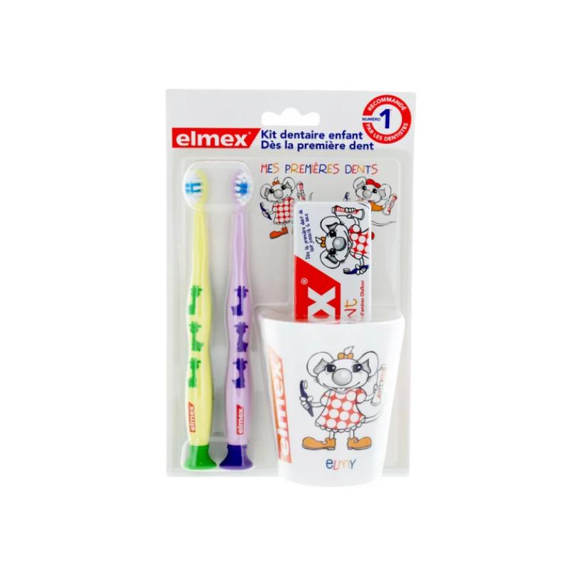 ELMEX Kit dentaire Dès la première dent disponible sur Pharmacasse