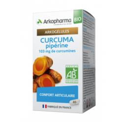 Arkogélules Bio Curcuma Pipérine Boîte de 40 gélules