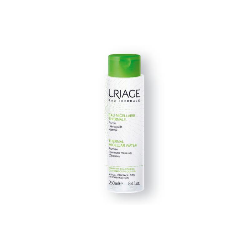Uriage Eau Micellaire Thermale Peaux mixtes à grasses Flacon de 250ml disponible sur Pharmacasse