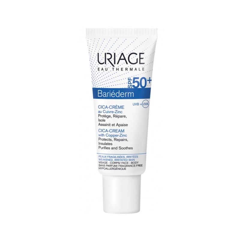 Uriage Bariéderm Cica-Crème au Cuivre-Zinc Tube de 40ml disponible sur Pharmacasse