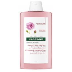 KLORANE Shampooing Apaisant et Anti-irritant à la Pivoine Flacon de 200 ml