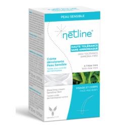 Netline Crème décolorante Peau Sensible 2x30ml