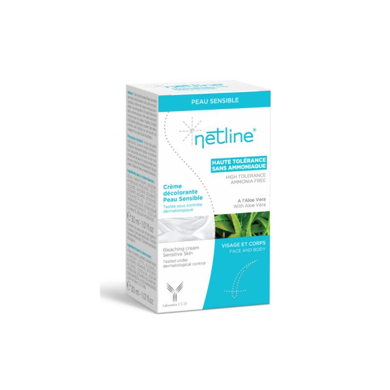Netline Crème décolorante Peau Sensible 2x30ml disponible sur Pharmacasse