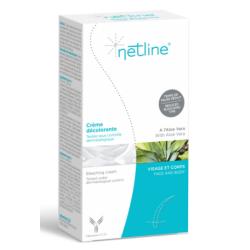 Netline Crème décolorante 1 tube de 20 ml  et 1 tube de 40 ml disponible sur Pharmacasse