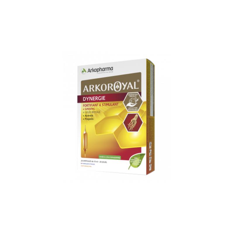 Arko Royal Dynergie Boîte de 20 ampoules disponible sur Pharmacasse