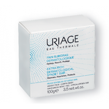 Uriage Eau Thermale Pain Surgras Dermatologique 100g disponible sur Pharmacasse