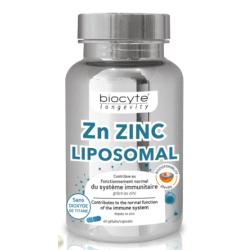 Biocyte Zn Zinc Liposomal Boîte de 60 Gélules