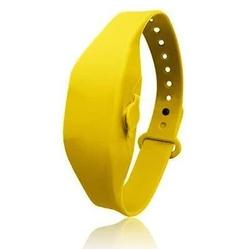 Bracelet Distibuteur de Gel 15 ml Jaune