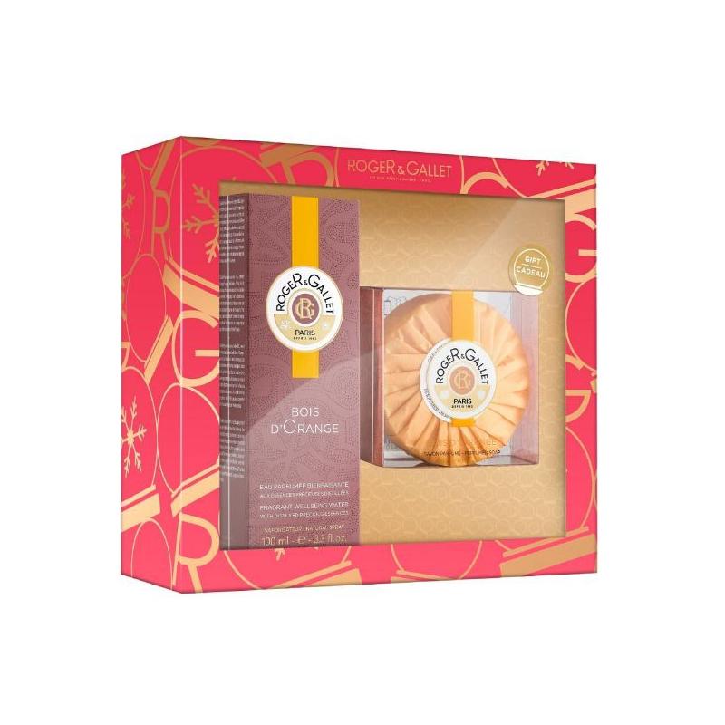 Roger & Gallet Coffret de Noël Bois D'orange Edition Limitée disponible sur Pharmacasse