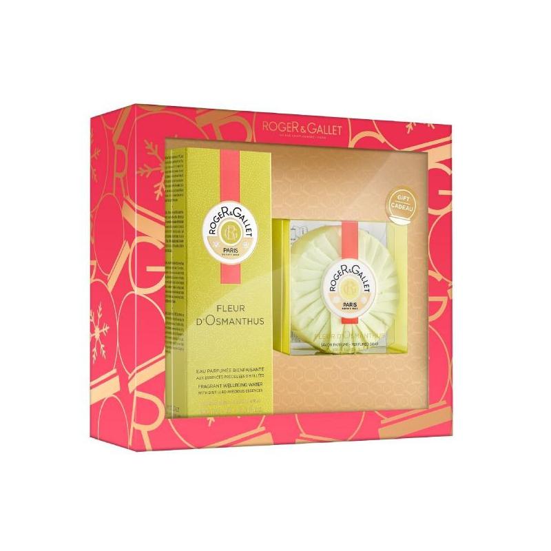 Roger & Gallet Coffret de Noël Fleur D'Osmanthus Edition Limitée disponible sur Pharmacasse