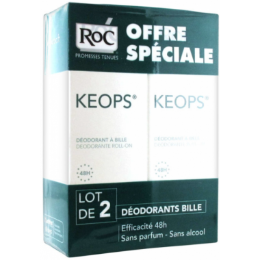 ROC Keops Déodorant Roll-on...