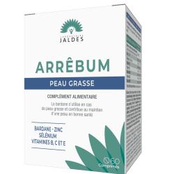 Arrêbum Jaldes Peau Grasse Boîte de 60 comprimés