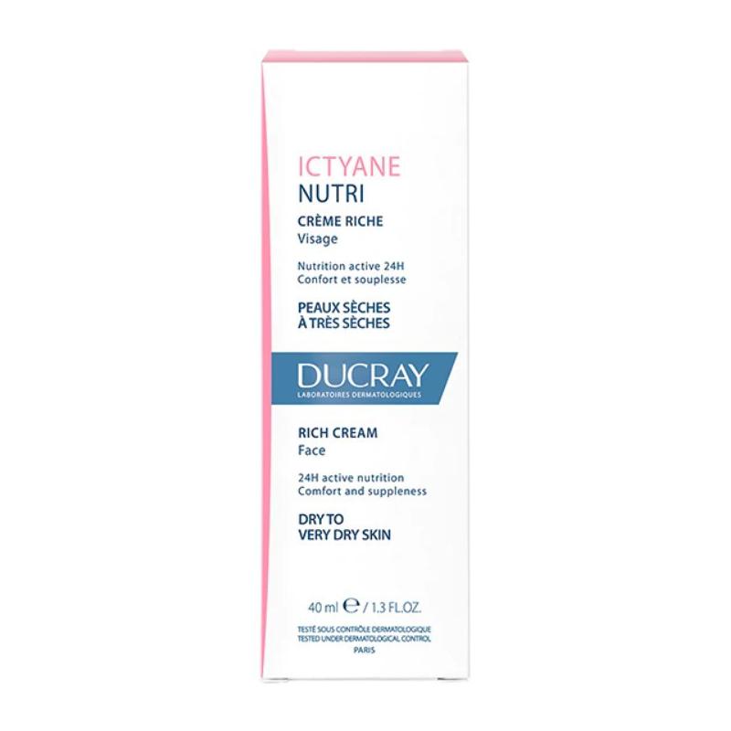 Ducray Ictyane Nutri Crème Riche 40ml disponible sur Pharmacasse