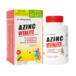 AZINC Vitalité Boîte de 120...