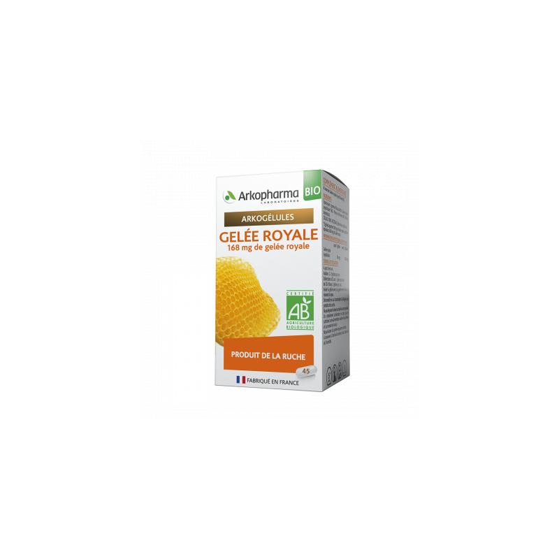 Arkogélules Gelée Royale Boîte de 45 gélules disponible sur Pharmacasse