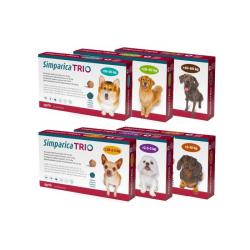 Simparica Trio (chien 2,5 -...