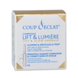 Coup d'éclat Ampoules Lift et Lumière Boîte de 3 ampoules disponible sur Pharmacasse