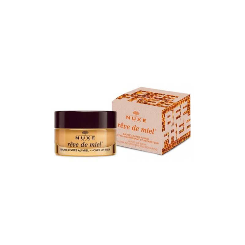 Nuxe Rêve de miel Baume Lèvres 15g Edition Bee Free disponible sur Pharmacasse