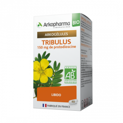 Arkogélules Bio Tribulus Boîte de 40 gélules disponible sur Pharmacasse