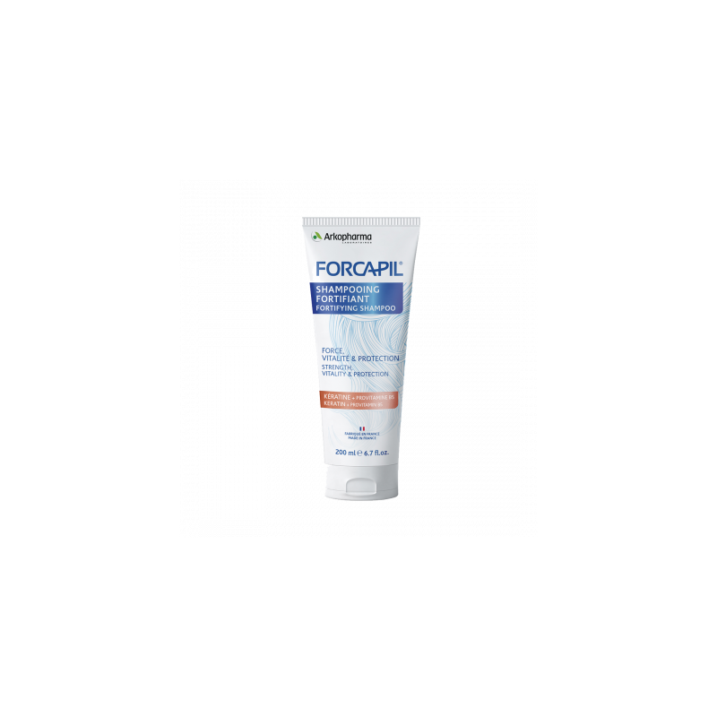 Forcapil Shampooing Fortifiant 200ml disponible sur Pharmacasse