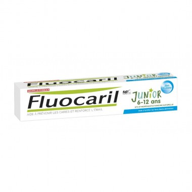 FLUOCARIL junior 6-12 ans Dentifrice gel bubble 75 ml