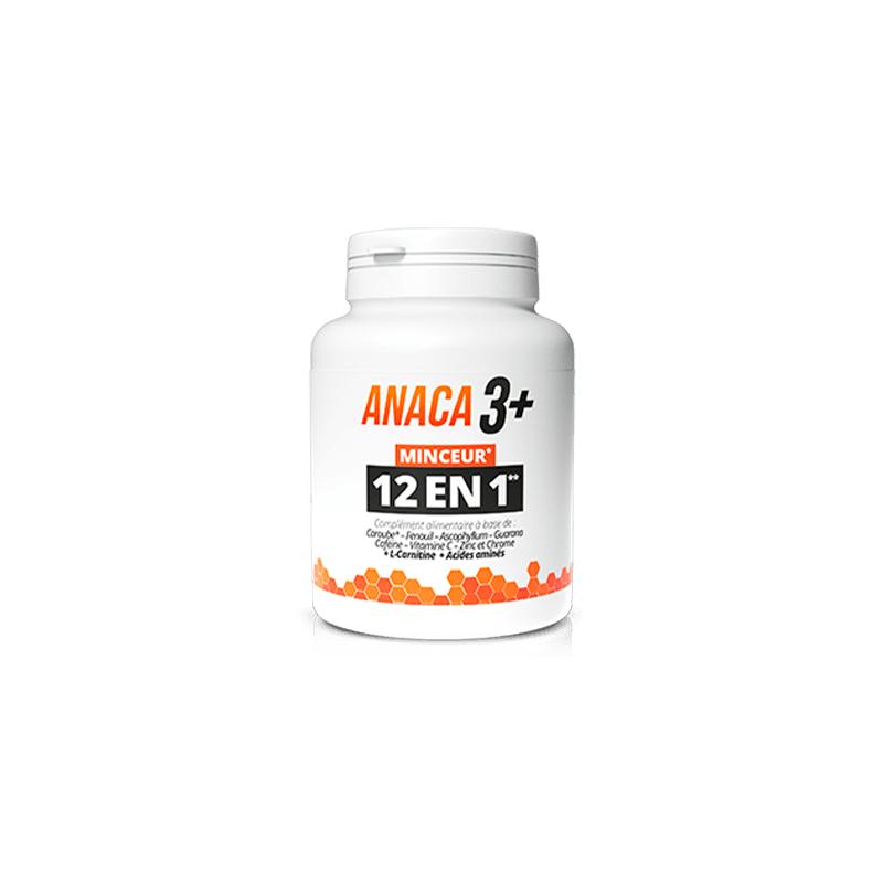 Anaca 3 Plus 12 en 1 Boîte de 120 gélules disponible sur Pharmacasse